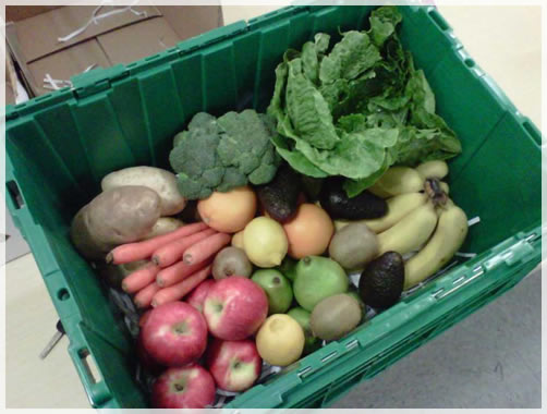 100% Boxes of Organic Produce Delivered